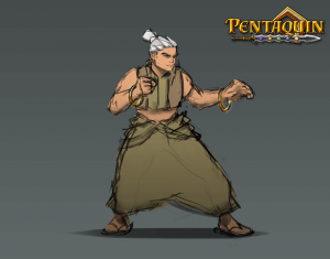 ConceptArt Player Pentaquin One